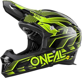 ONeal O'Neal Fury RL Helm Mercury schwarz/grün