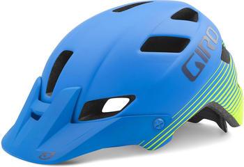 Giro Feature Mips 59-63 cm matte blue/lime 2016