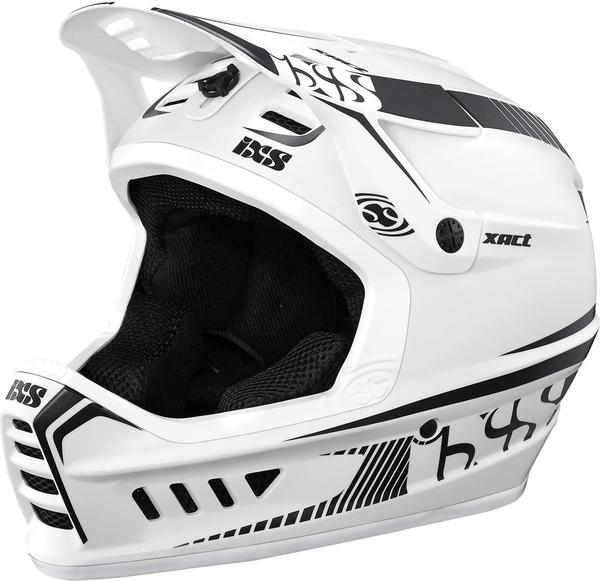 iXS Xact Helm - white/black 57-59