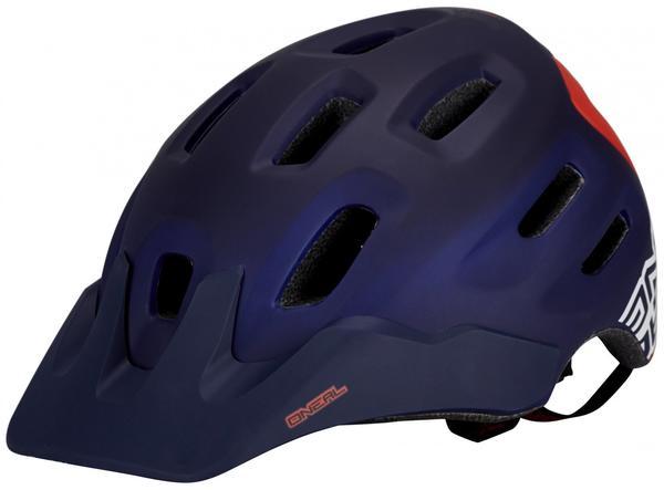 ONeal ONeal Defender Flat Helmet dark blue/red 59-61 cm 2017 MTB Helme