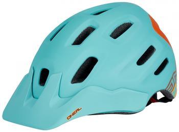 oneal-defender-flat-helmet-mint-orange-59-61-cm-mountainbike-helme