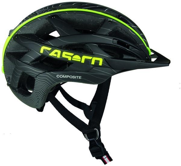 casco Cuda 52-58 cm schwarz/neon 2017