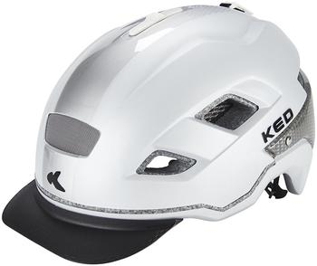 KED Berlin Pearl Silver 52-58 cm Trekking - City Helme