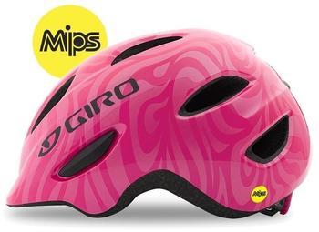 Giro Scamp Mips Fahrradhelm Pink Swirl