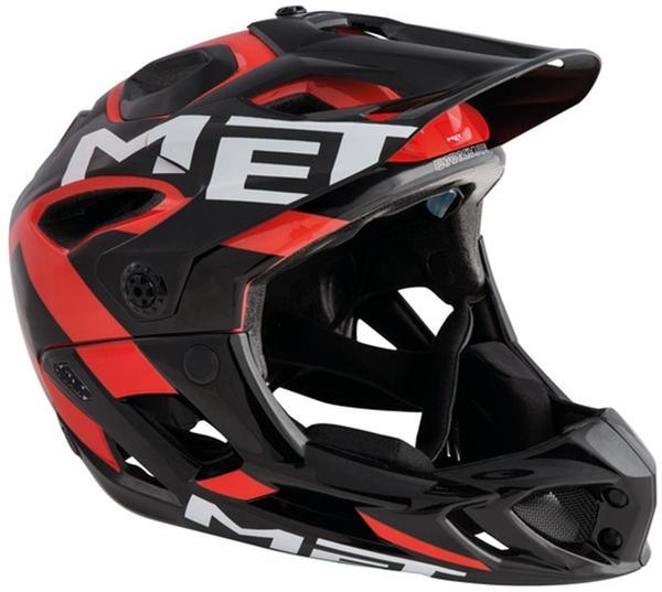 MET Parachute schwarz-rot