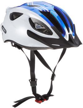 ABUS S-Cension Helm blau-weiß