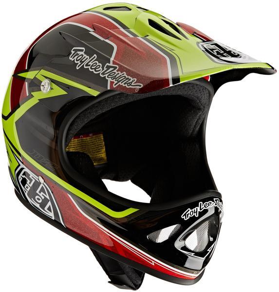Troy Lee Designs D2 Sonar Helm Gelb M/L