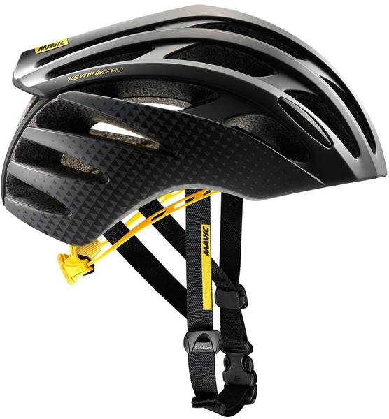 Mavic Ksyrium Pro Helmet Men black/yellow 54-59 cm 2017 Rennradhelme