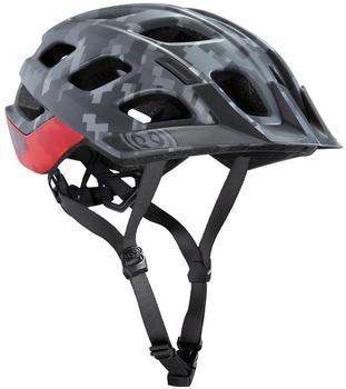 IXS Trail XC Helmet red hans rey edition 54-58cm 2017 MTB Helm Grau/Rot S/M
