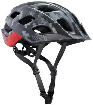 IXS Trail, XC MTB Helm Grau Silber XS