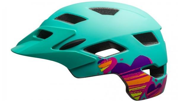 Bell Sidetrack Helm grün