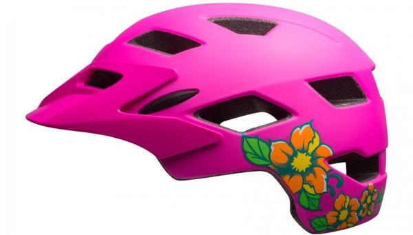 Bell Sidetrack Helm pink lime