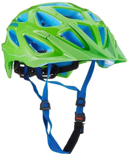 Alpina Mythos 3.0 57-62 cm Neon grün/blau 2017