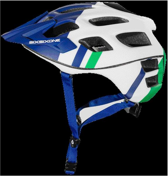 SixSixOne Trail-MTB Helm Recon Scout Weiß/Rot