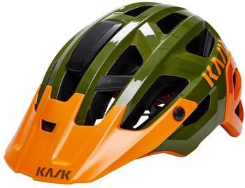Kask REX moss / orange