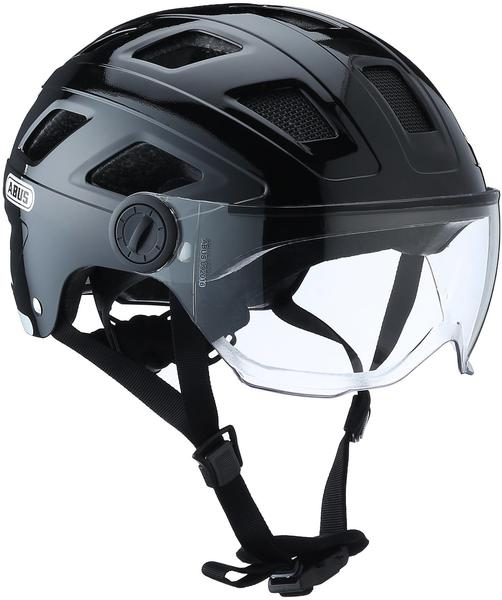 ABUS Hyban + 56-63 cm black/clear visor 2017
