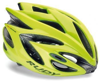 Rudy Project Rush Helmet Yellow Fluo (Shiny) 54-58 cm 2017 Rennradhelme