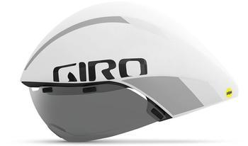 Giro Aerohead MIPS Helm white/silver M | 55-59cm 2020 Triathlon Helme