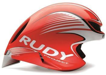 Rudy Project Wing57 Helmet Red FluoWhite (Shiny) 54-58 cm 2017 Rennradhelme