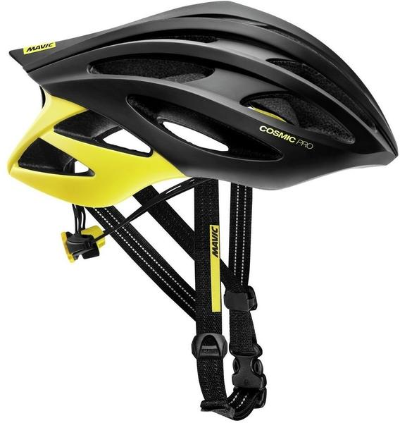 Mavic Cosmic Pro helmet black-yellow