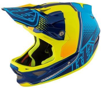 troy-lee-designs-d3-starburst-yellow-xl-60-62cm-downhill-helme