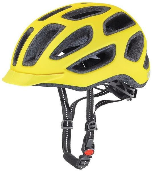 Uvex City e 57-61 cm neon yellow matt 2016
