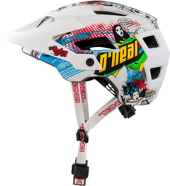 O'Neal Defender 2.0 Helmet Villain white/red/green