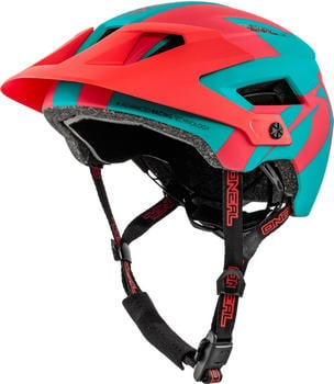 O'Neal Defender 2.0 Helmet turquoise/red
