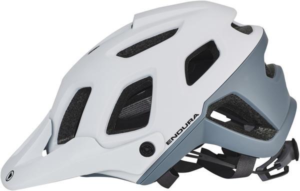 Endura SingleTrack II Helm weiß