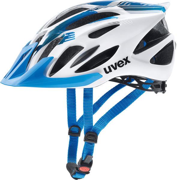 Uvex Flash Weiß-blau