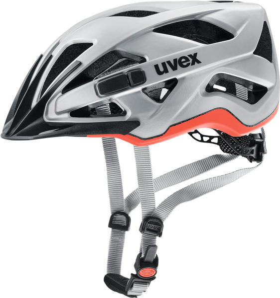 Uvex City Active cc silver-orange
