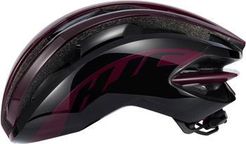 hjc-ibex-road-helmet-gloss-burgundy-black