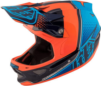 Troy Lee Designs D3 Carbon MIPS blue-orange