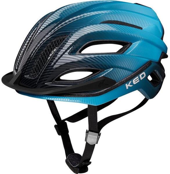 KED Champion Visor blue black