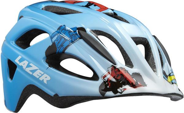 Lazer P'Nut blue racer boy