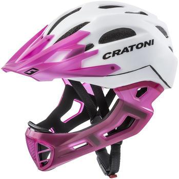Cratoni C-Maniac white-pink