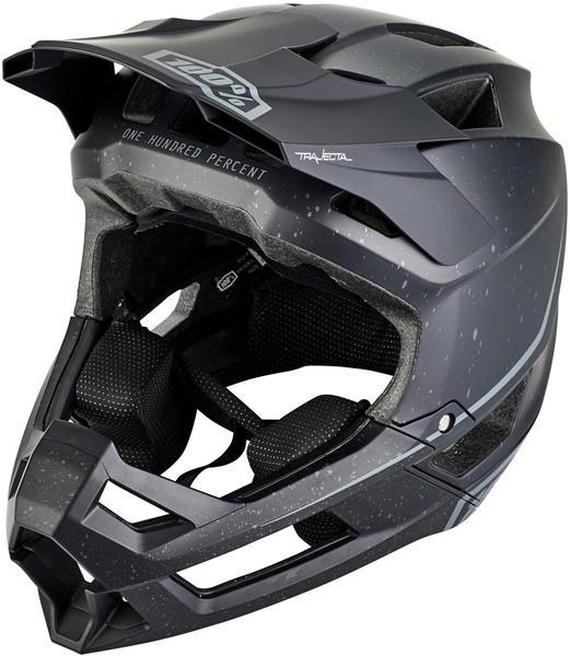 100% Trajecta Helmet black