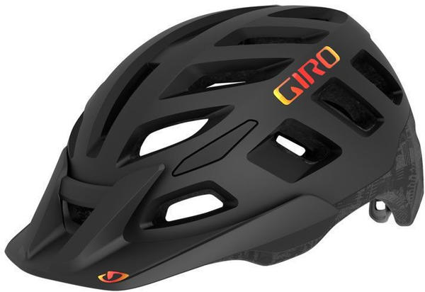 Giro Radix MIPS Helmet black-orange