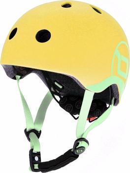 Scoot & Ride Kids helmet lemon