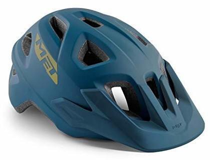 MET Echo mips black petrol blue