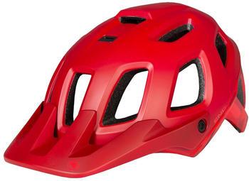 Endura SingleTrack II helmet red