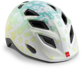 met-elfo-helmet-kids-iridescent-white-flowers