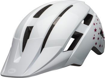 Bell Sidetrack II helmet Kid's white stars