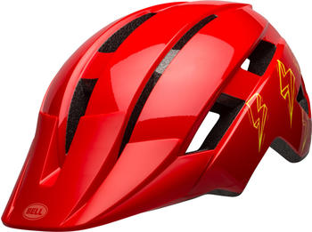 Bell Sidetrack II helmet Kid's red bolts
