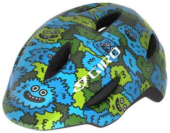 Giro Scamp MIPS helmet Kid's blue/green creature camo