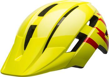 Bell Sidetrack II MIPS helmet Jugend hi-viz/red