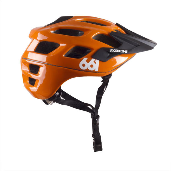 SixSixOne Recon Scout helmet orange