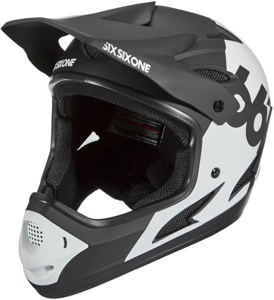 SixSixOne Comp Full-Face helmet white