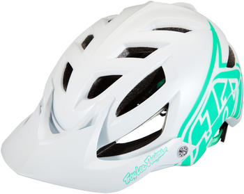 Troy Lee Designs A1 Drone helmet white/aqua