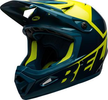 Bell Transfer helmet blue/hi-viz